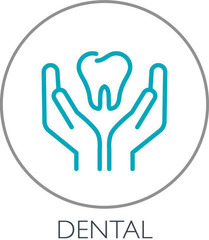 Small dental care icon