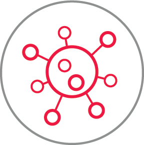Mold red icon
